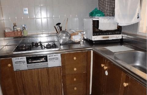 キッチンとリビングリフォーム工事イメージ01
