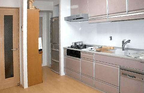 キッチンとリビングリフォーム工事イメージ02