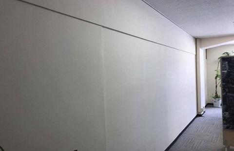 壁面ホワイトボード貼工事イメージ03